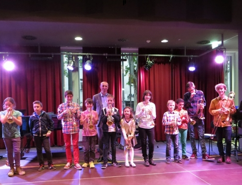 Trompetenklasse Richard Jauk Klassenkonzert Frühling 2014